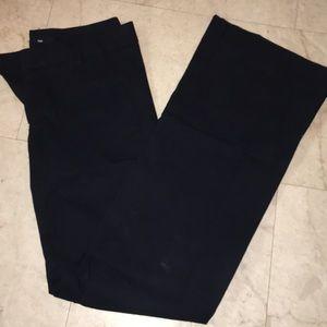 GAP Navy Wideleg Trouser Pant 00